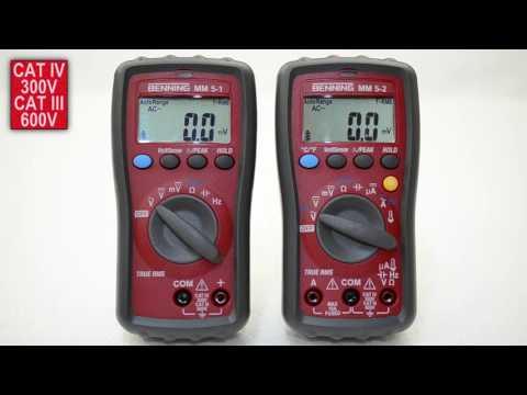 Industry Multimeter MM 6-2 - BENNING